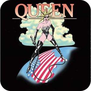 Queen onderzetter - USA mistress