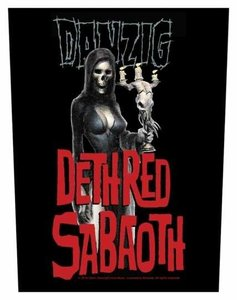Danzig backpatch - Dethred Sabaoth