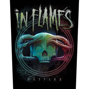 In Flames back patch - Battles