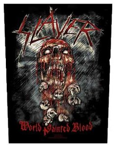 Slayer back patch 'World Painted Blood'