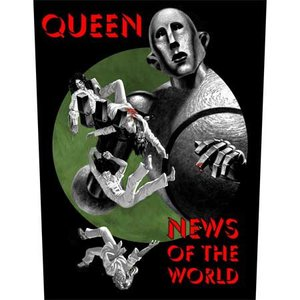 Queen back patch 'News of the World'