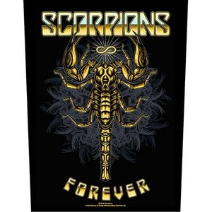 Scorpions back patch 'Forever'