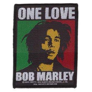 Bob Marley patch 'One Love'