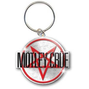 Motley Crue sleutelhanger - Shout at the Devil