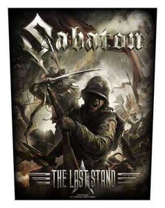 Sabaton back patch 'The Last Stand'