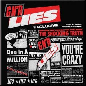 Guns N Roses magneet - GNR lies