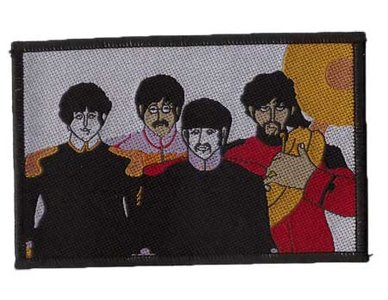 The Beatles patch 'Yellow Submarine Band'