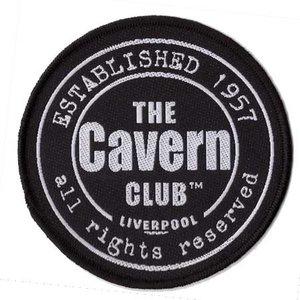 The Cavern Club patch 'Club logo black'
