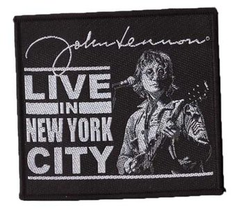 John Lennon patch - Live in New York City