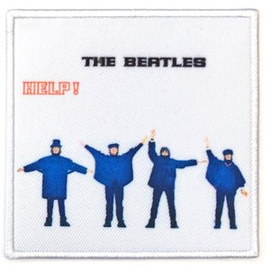 The Beatles opstrijk patch 'Help!'