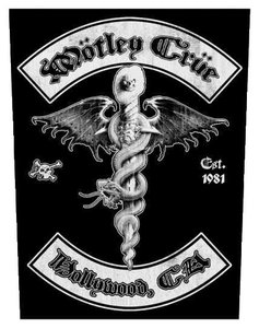 Motley Crue back patch - Hollywood