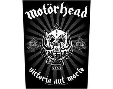 Motorhead backpatch - Victoria Aut Morte 1975-2015