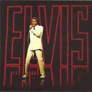 Elvis Presley wenskaart - 68 special