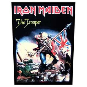 Iron Maiden back patch 'The Trooper'