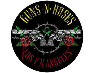 Guns N Roses backpatch - Los F N Angeles