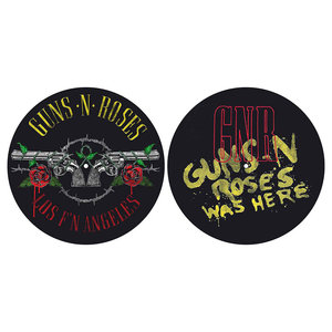 Guns N Roses slipmat set - Los F'n Angeles