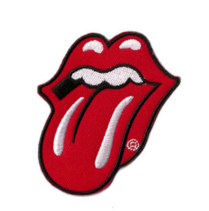The Rolling Stones patch - Classic Tongue Logo
