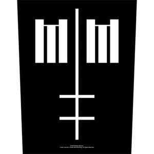 Marilyn Manson back patch - Cross Logo