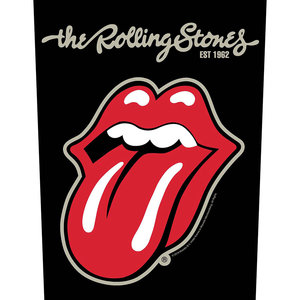 The Rolling Stones back patch - Tongue
