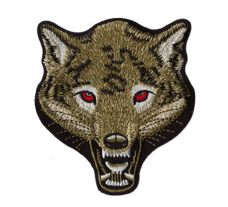 Biker patch - Wolf