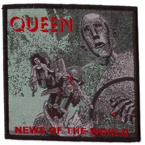 Queen patch - News Of The World
