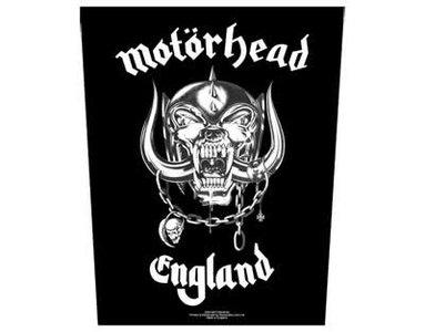 Motorhead backpatch - England