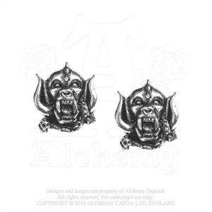 Motorhead oorknopjes - Warpig
