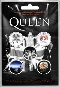 Queen button set 'Freddie'