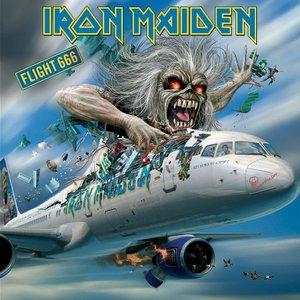Iron Maiden wenskaart - Flight 666