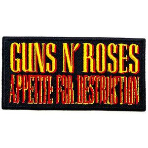 Guns N Roses patch - Appetite For Destruction