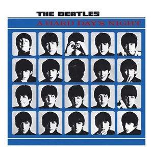 The Beatles wenskaart  - A Hard Days Night
