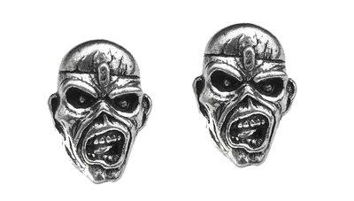 Iron Maiden oorknopjes - Piece Of Mind Eddie