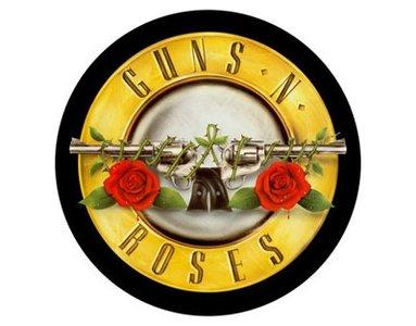 Guns N Roses backpatch - Bullet Logo