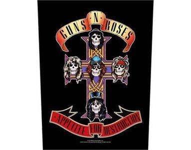 Guns N Roses backpatch - Appetite For Destruction